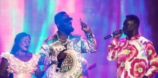 Sarkodie and Yaw Sarpong perform during Black Love Virtual Concert