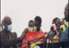 Kofi Abban with Nana Yaw Amponsah at Sports Hotel in Kumasi