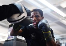 FILE — Duke Micah of Ghana works out at at Gleason's Gym on December 04, 2019 in the Brooklyn borough of New York City. Emilee Chinn/Getty Images/AFP