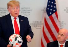 President Trump and FIFA President