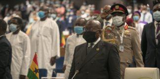 Akufo-Addo at ECOWAS Summit