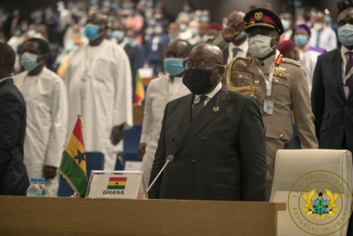 Akufo-Addo at ECOWAS Summit