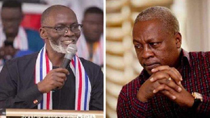 Gabby Asare Otchere-Darko and John Dramani Mahama