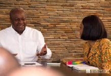 The EC Chair's comments comes after former President Mahama expressed some sentiments last week
