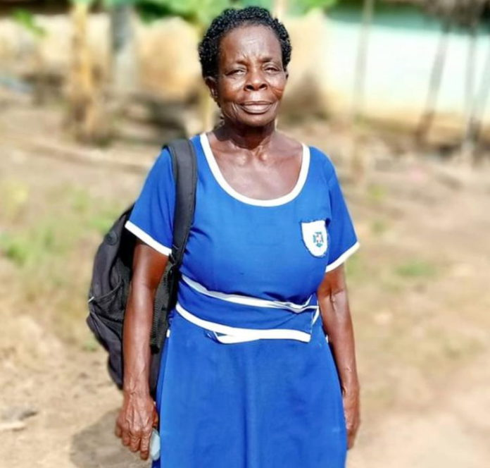 Meet Ghana's oldest candidate for this year's BECE
