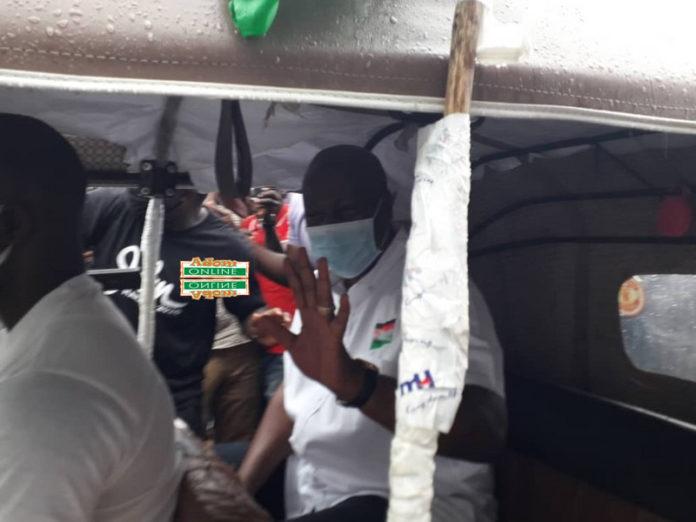 Mahama campaigns in Wa