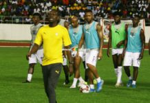 CK Akonnor with Black Stars