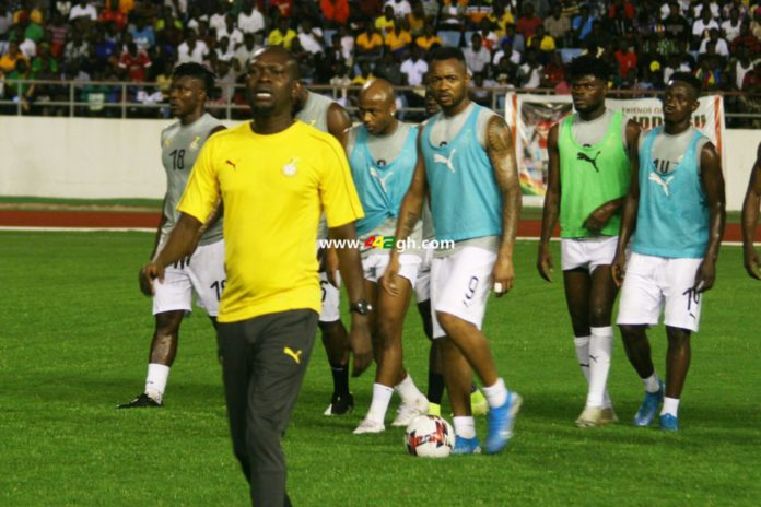 CK Akonnor with Black Stars