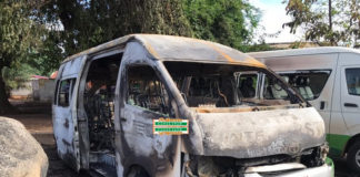 STC bus burnt by alleged secessionist group Western Togoland