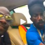 Okyeame Kwame and Sizzla Kalonji in Jamaica