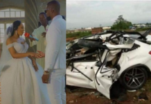 Man dies in car accident in Asaba three days after his wedding