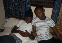 L-R: Stonebwoy and Sadick Assah