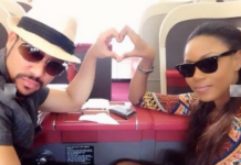 Yvonne Nelson and Majid Michel