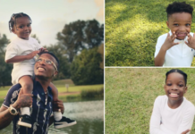 Wizkid features his three kids in official music video for Smile. Photo: Instagram/@wizkidayo