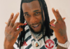 Burna Boy wears new Manchester United football jersey