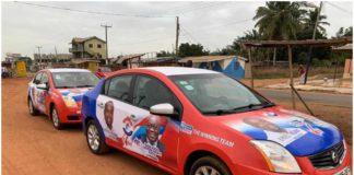Santaclaucian donates towards Ernest Kumi's campaign