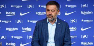 Bartomeu has been president since Sandro Rosell resigned in 2014