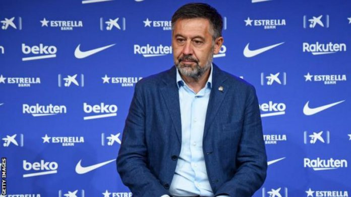 Bartomeu has been president since Sandro Rosell resigned in 2014