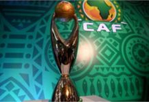 The African Champions League trophy