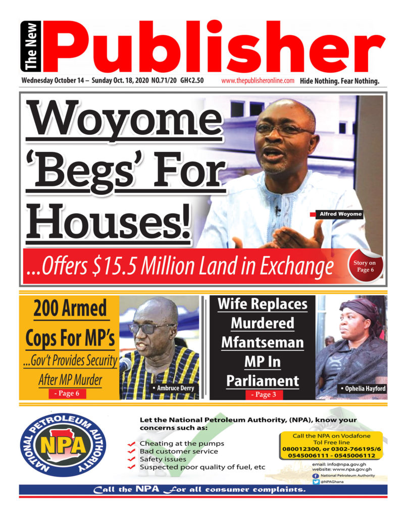 Newspaper headlines of Wednesday, October 14, 2020 8