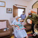 John Mahama and Amissah Arthur's mother