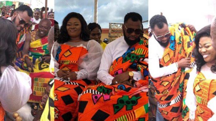 Rev Obofour and wife, Bofowaa