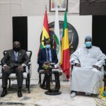 President Akufo-Addo met with the President of Mali's Transitional Government, Bah N'daw