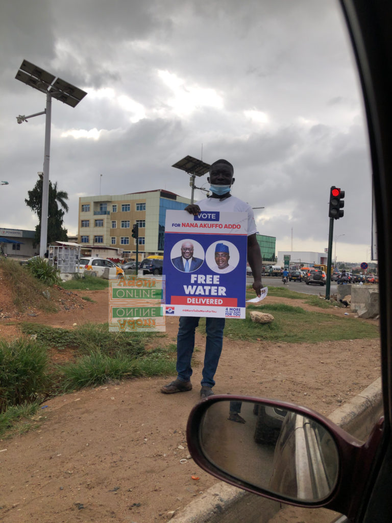 Elections 2020: NPP takes campaign to the streets | Photo by Dennis K. Adu | Adomonline.com