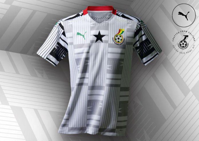 New Ghana Black Stars jersey