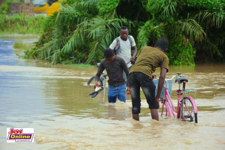 Ga South Municipality Affected Most By Heavy Downpour. 57