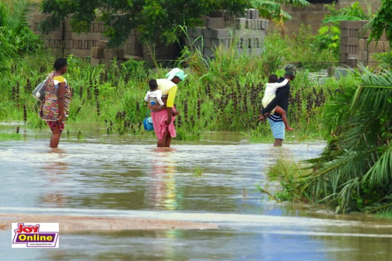 Ga South Municipality Affected Most By Heavy Downpour. 61