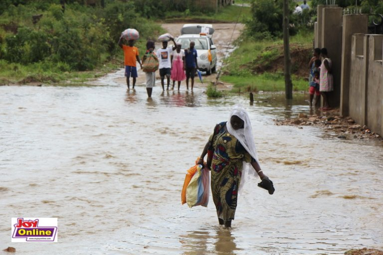 Ga South Municipality Affected Most By Heavy Downpour. 60