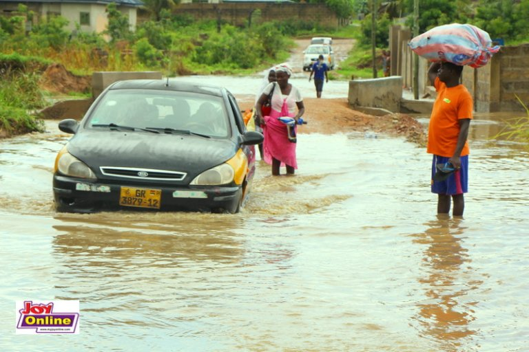 Ga South Municipality Affected Most By Heavy Downpour. 59