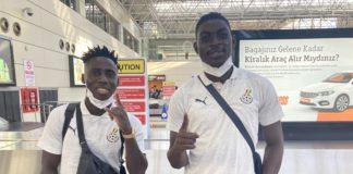 Samuel Owusu and Razak Abalora