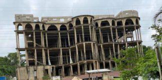 Akyem Batabi church building collapse