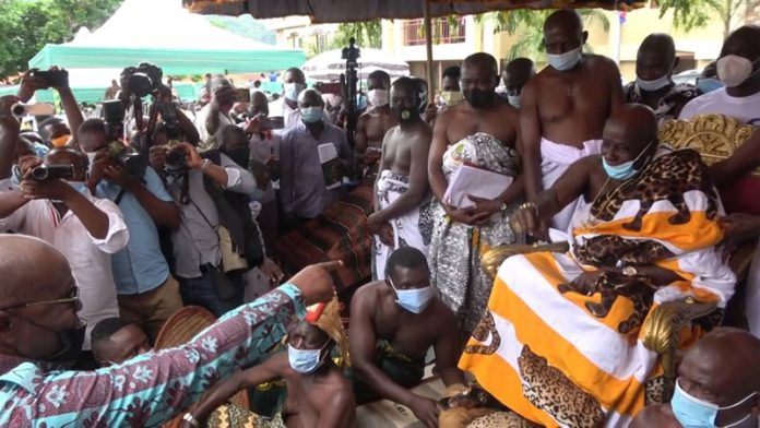 Okyehene and Akufo-Addo
