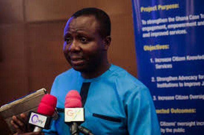 Ibrahim Oppong Kwarteng, Executive Officer, Crime Check Foundation