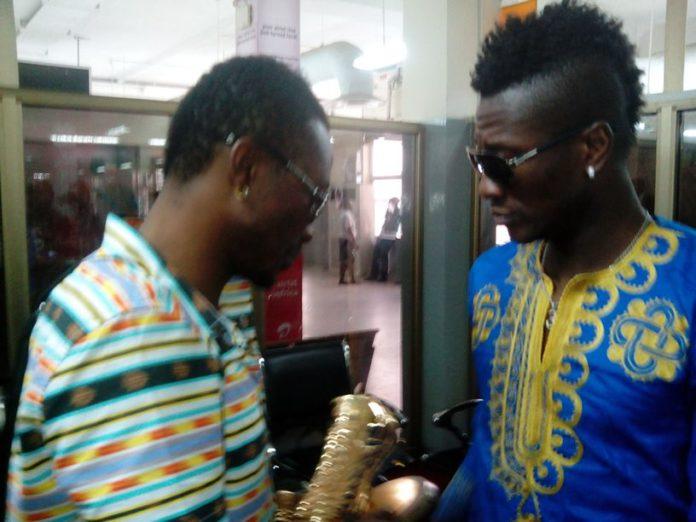 Asamoah Gyan and Baffour Gyan