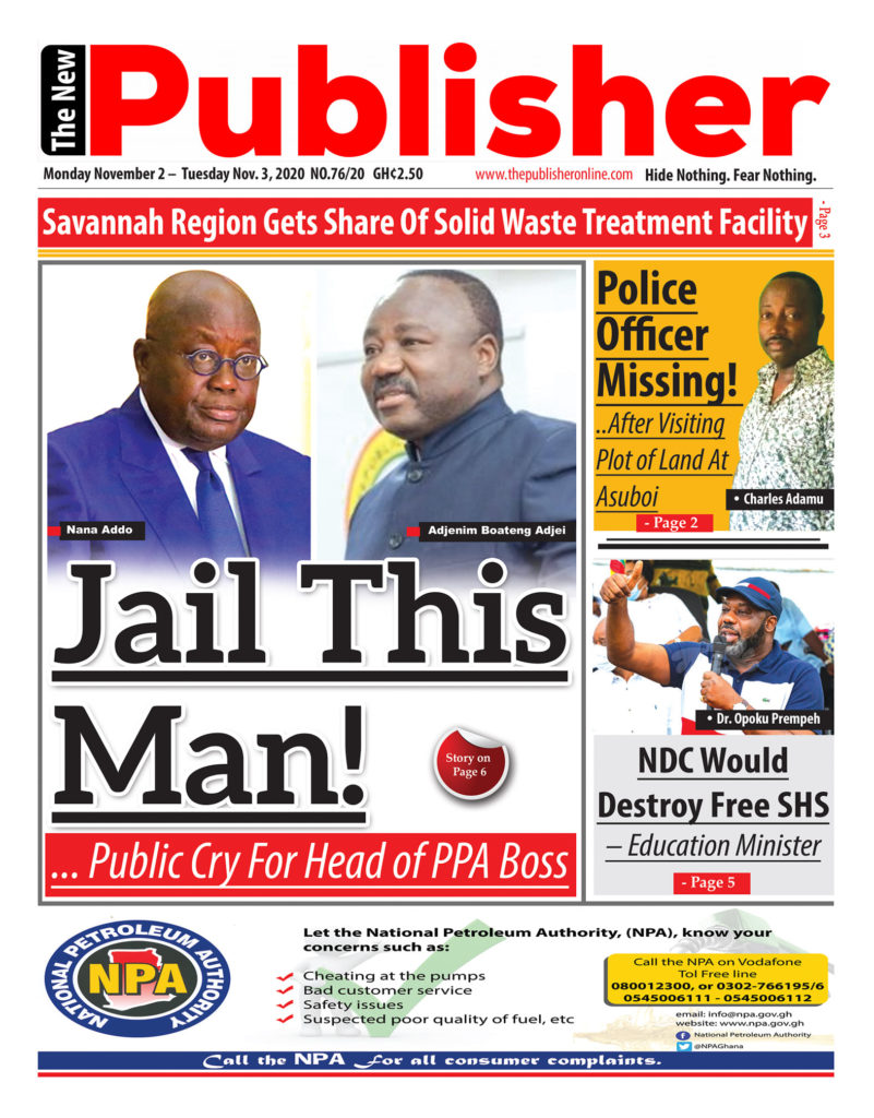 Newspaper headlines of Monday, November 2, 2020 26
