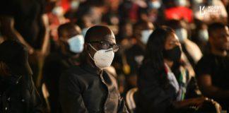 Asiedu nketia at Rawlings vigil