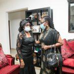 Ursula Owusu-Ekuful and Nana Konadu Agyeman Rawlings
