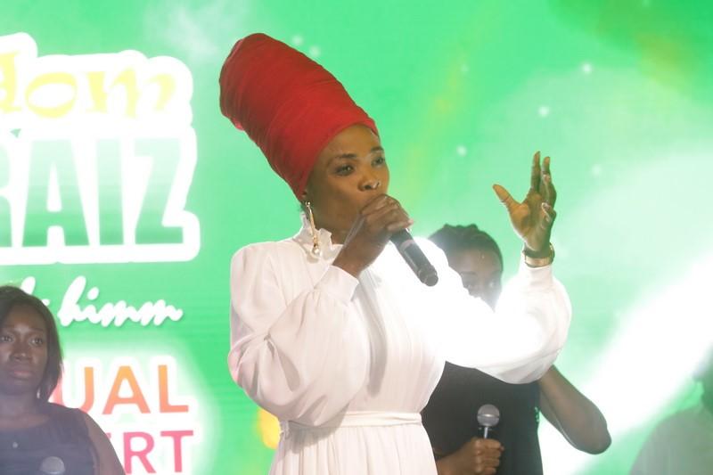 Diana Asamoah at Adom Praiz 2020
