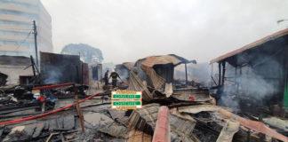 Odawna market fire outbreak