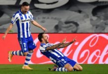Alaves celebrate scoring against Real Madrid Image credit: Getty Images
