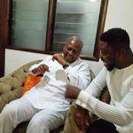 John Dramani Mahama with A Plus