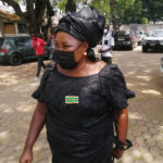 Akua Donkor spotted at Rawlings' residence
