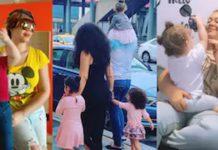 nadia buari and family