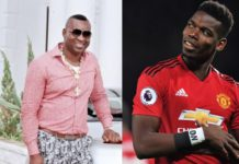 Chairman Wontumi and Paul Pogba