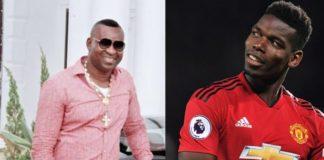 Chairman Wontumi and Paul Pogba