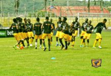 AshantiGold training